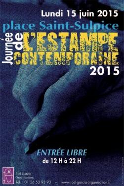 Affiche Journee de l'estampe 2015